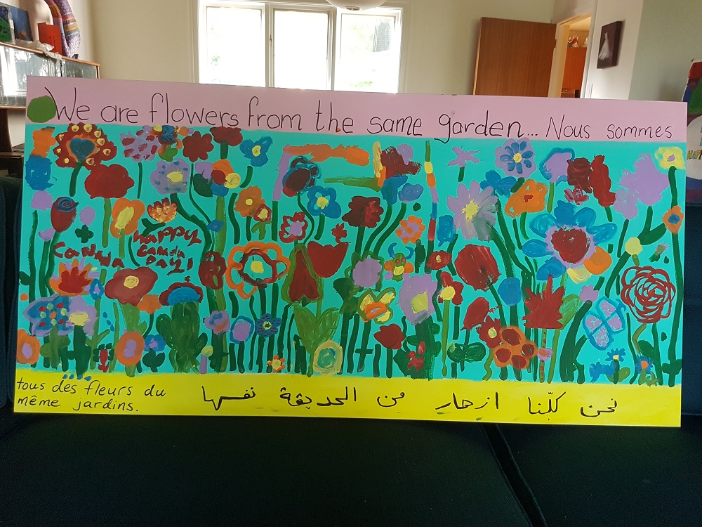 Canada Day Kindness Painting – A Gift for the Heron Emergency Food Centre