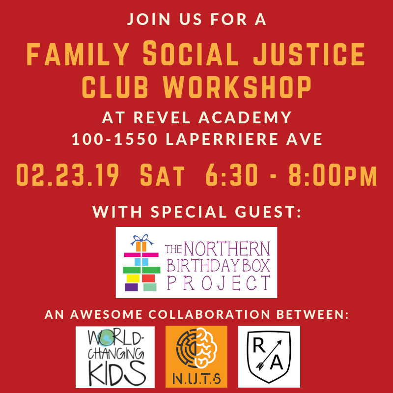 Family Social Justice Workshop