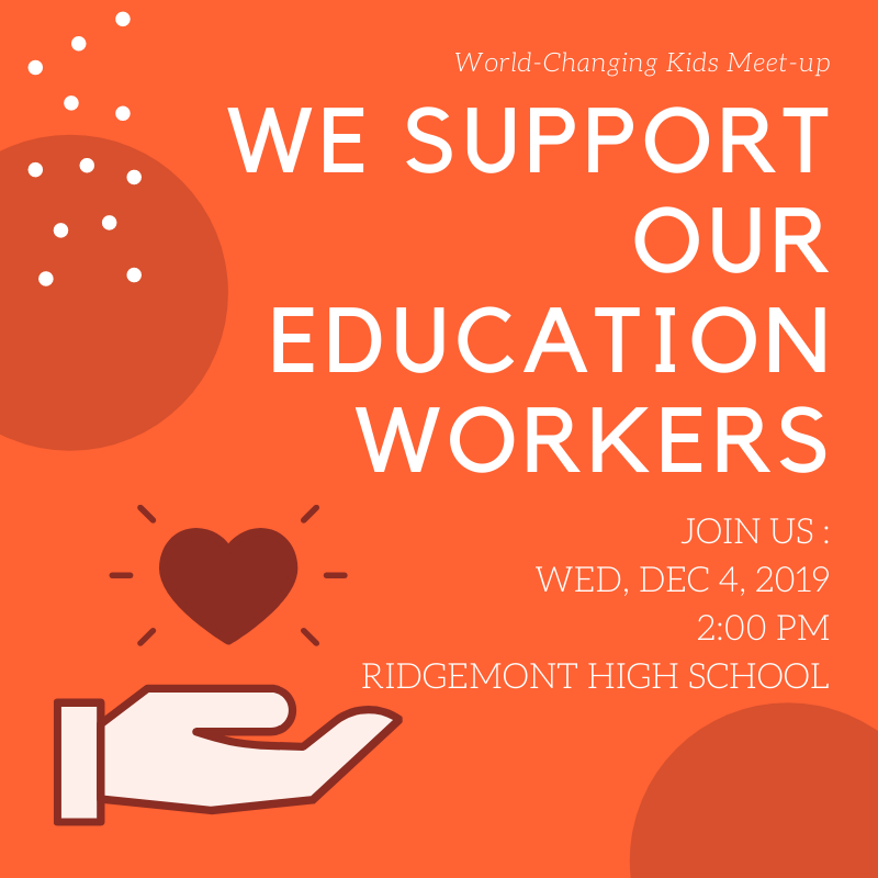 Let's show our educators that we love and support them